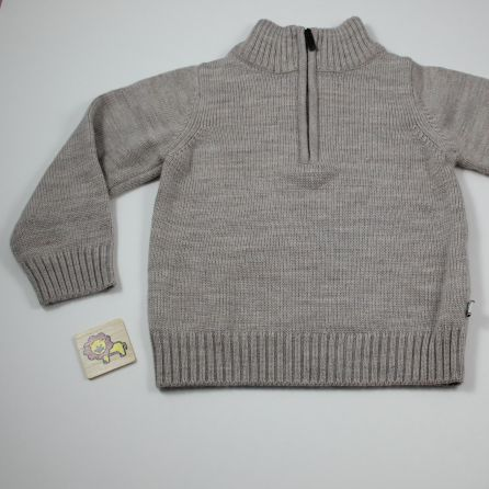 Pull col cheminée 2 ans