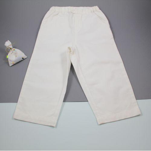 Pantalon blanc 24 mois
