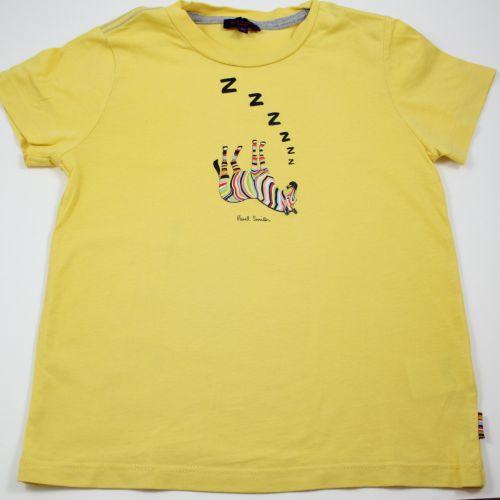 Tee-shirt jaune 6 ans