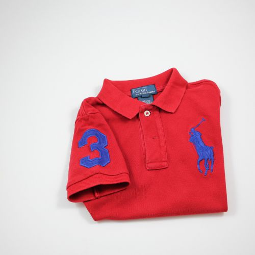 Polo rouge 4 ans