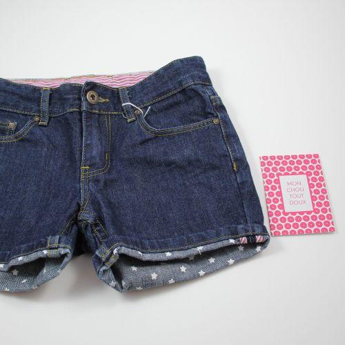 Short en jeans 10 ans