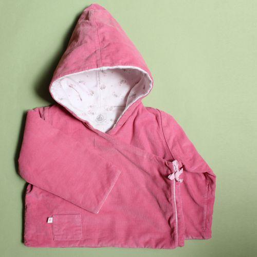 Manteau à capuche 12 mois
