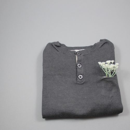 pull fin gris 4 ans