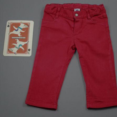 Pantalon rouge 12 mois
