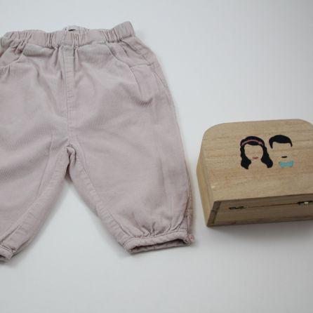Pantalon en velours 6 mois