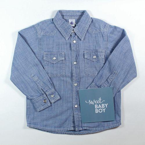 chemise en jean 4 ans