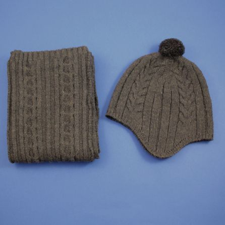 bonnet et écharpe 6/8 ans