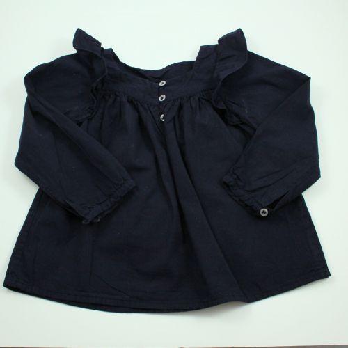 blouse marine 4 ans