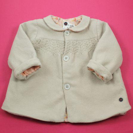 manteau laine vierge 12 mois