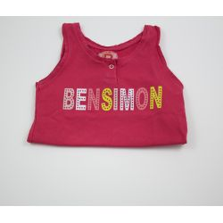 Tee-shirt rouge 2 ans Bensimon