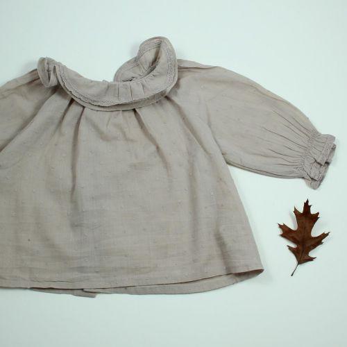 blouse plumetis 6 mois
