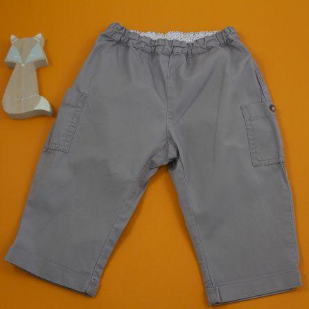 Pantalon gris 12 mois