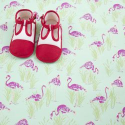 Chaussons rouge et blanc 21