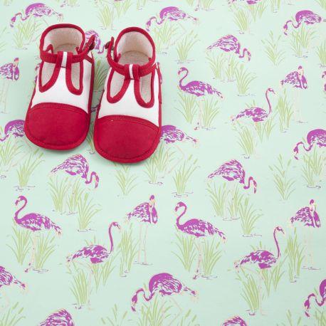 Chaussons rouge et blanc pointure 21 Bonpoint