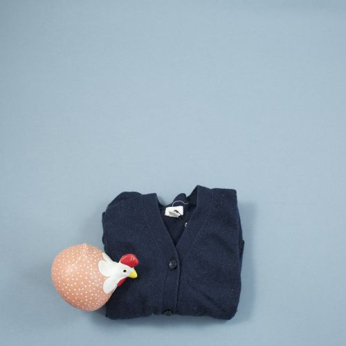 gilet bleu marine avec poches devant