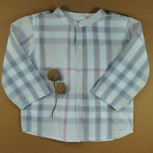 blouse tartan 18 mois